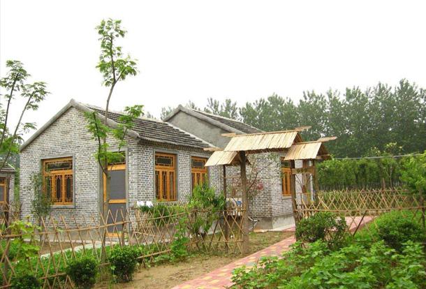 农村别墅 独院栅栏